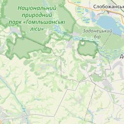 Map of Kharkiv