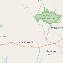 Map of Arusha