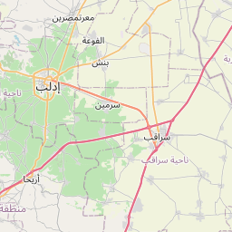 Map of Idlib