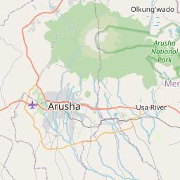 Map of Merelani