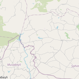 Map of Gaziantep