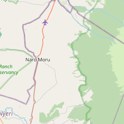 Map of Nanyuki