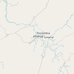 Map of Barentu