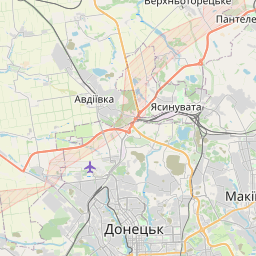 Map of Makiyivka