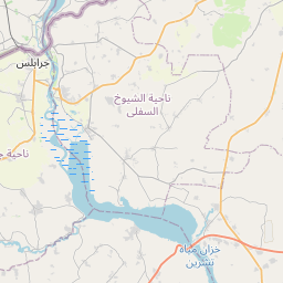 Map of Manbij
