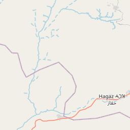 Map of Keren