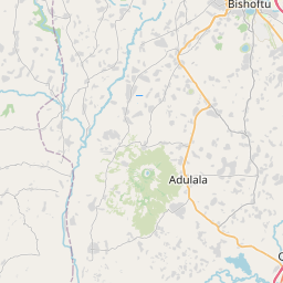 Map of Addis