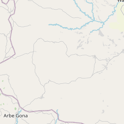 Map of Hawassa
