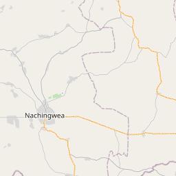 Map of Mtwara