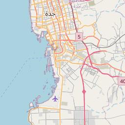 Map of Jeddah