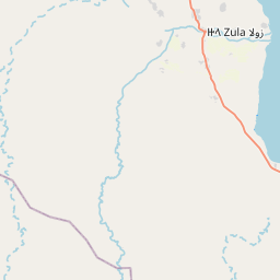 Map of Zula