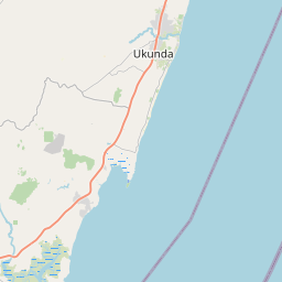 Map of Mombasa