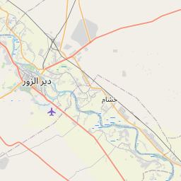 Map of Deir