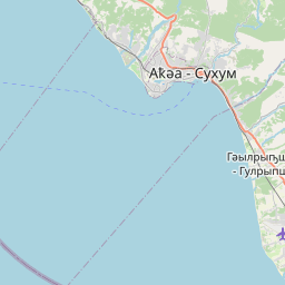 Map of Sokhumi