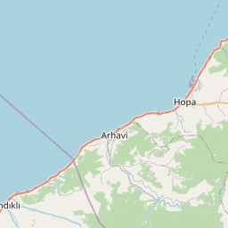 Map of Batumi