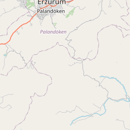 Map of Erzurum
