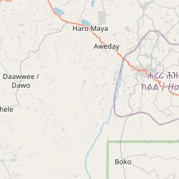 Map of Harar
