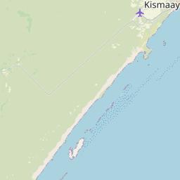 Map of Kismayo