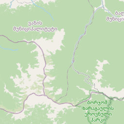 Map of Akhaltsikhe