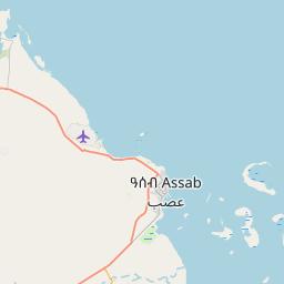 Map of Assab