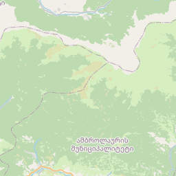 Map of Tqibuli