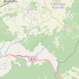 Map of Borjomi