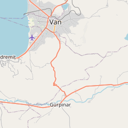 Map of Van