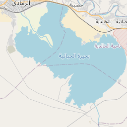 Map of Ramadi