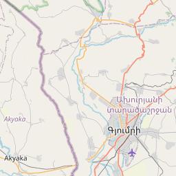 Map of Spitak