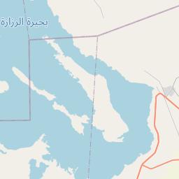 Map of Karbala