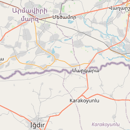 Map of Ashtarak