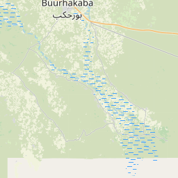 Map of Buurhakaba