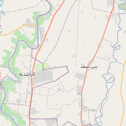 Map of Baqubah