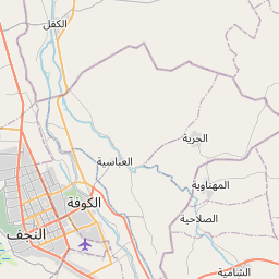 Map of Najaf
