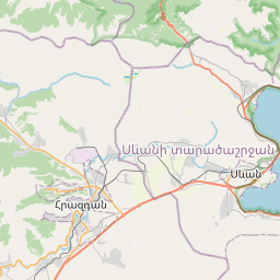 Map of Yerevan