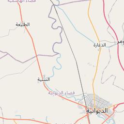 Map of Kufa