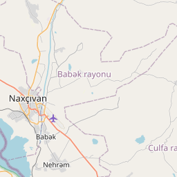 Map of Nakhchivan