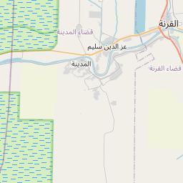 Map of Basrah