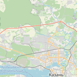 Map of Kazan