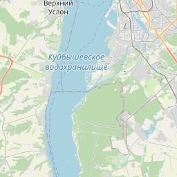 Map of Kazan
