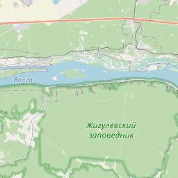 Map of Samara
