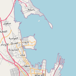 Map of Khobar