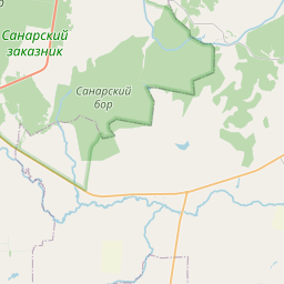 Map of Chelyabinsk
