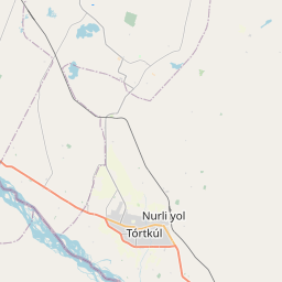Map of Urganch