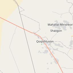 Map of Bukhara