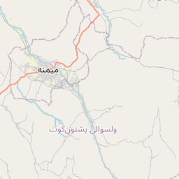 Map of Maymana