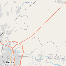 Map of Qarshi