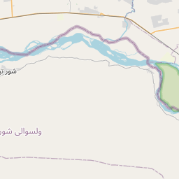 Map of Tirmiz