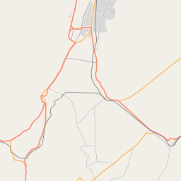 Map of Quetta