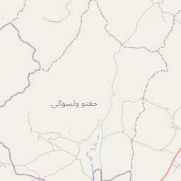 Map of Ghazni